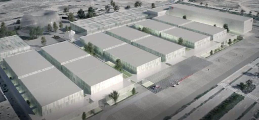 Nuevo hospital en Valdebebas