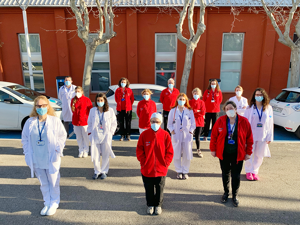 Profesionales sanitarios | Foto: Hospital Parc Taulí