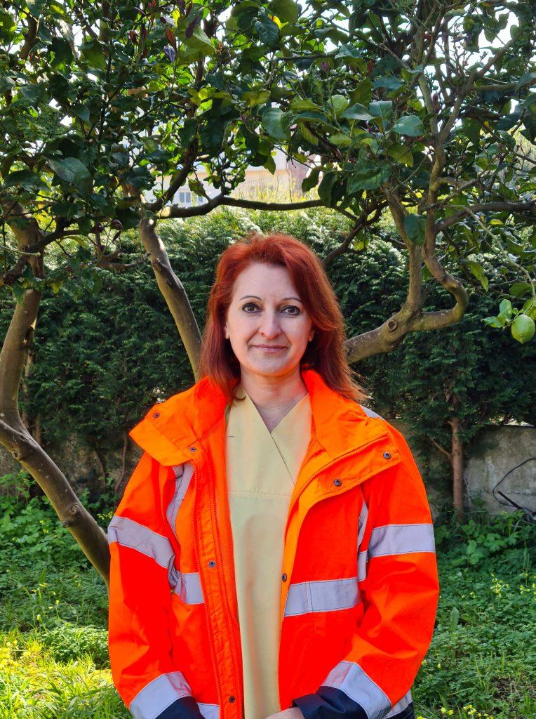 Blanca Fachado, enfermera de urgencias