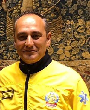Carlos Rodríguez,  jefe de la Unidad de Calidad Asistencial del SAMUR.