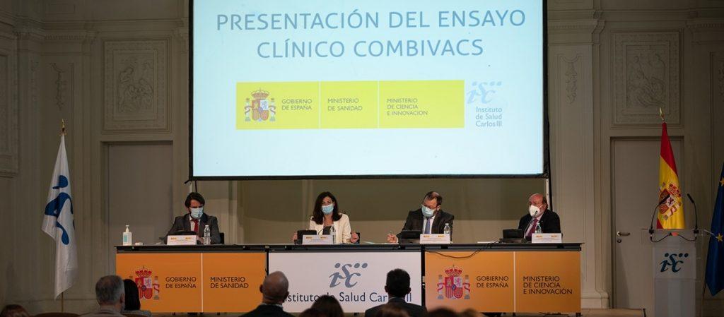 Presentación del estudio COMBIVACS | Foto: Instituto de Salud Carlos III