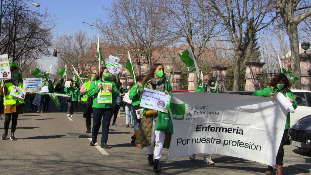 Huelga profesionales sanitarios | Satse Castilla y León