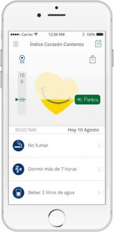 App Corazón Contento