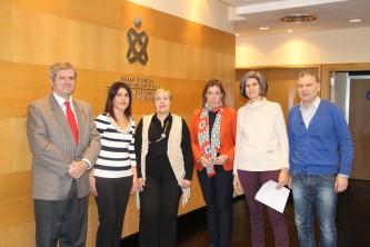 Imagen de los ponentes y orgnizadores de la IX Jornada de Enfermería del Trabajo del Colegio de Enfermería de Bizkaia