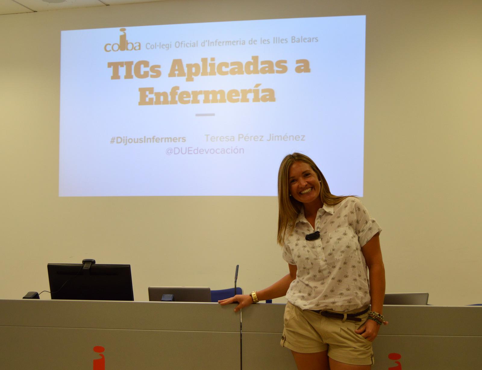 Teresa Pérez TICs aplicadas a enfermería