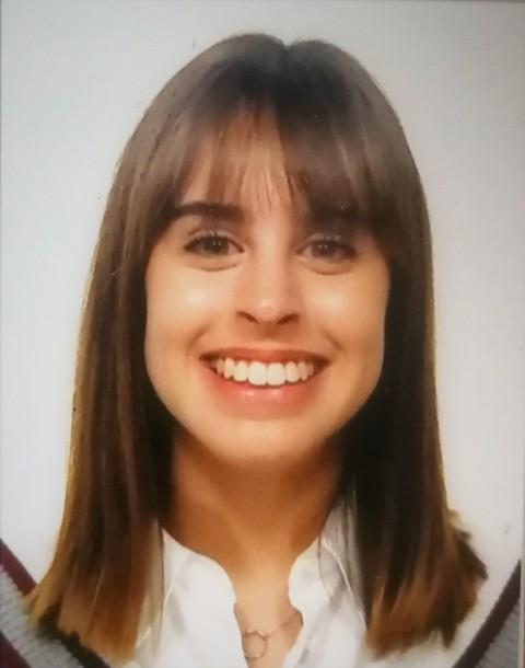 Elena Arias Gómez, estudiante de Enfermería
