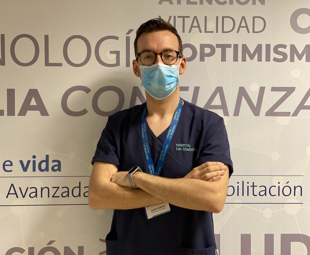 Alberto Martín Ibáñez, responsable de Enfermería