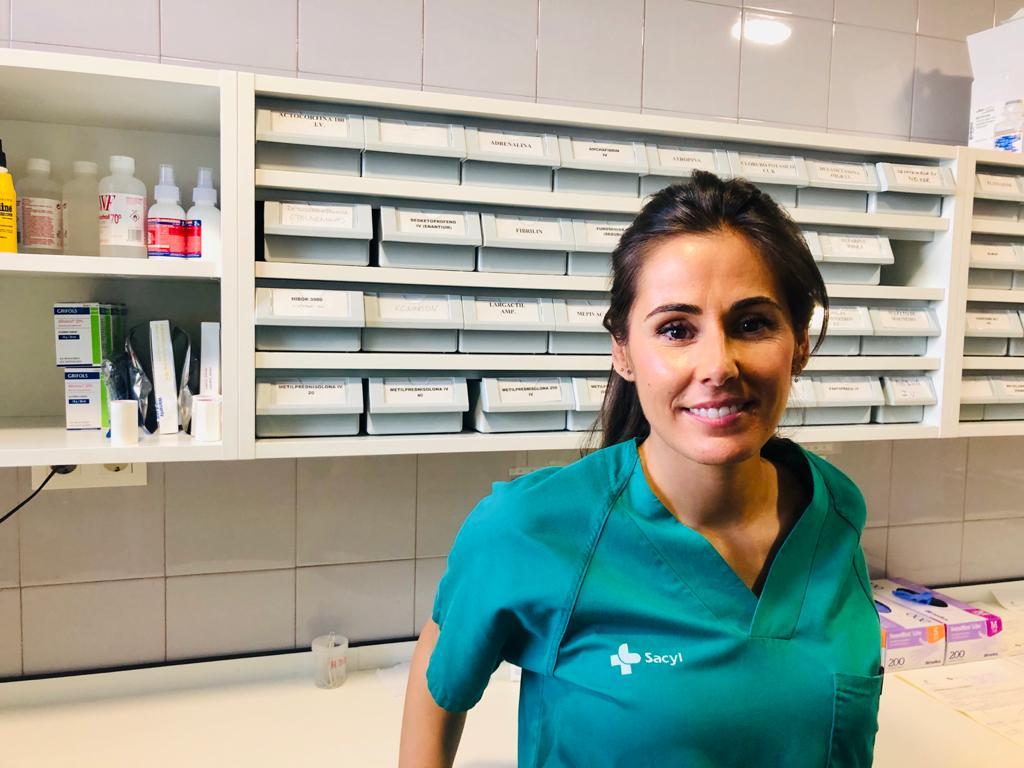 María Baz Codesal | Enfermera en el Hospital VIrgen de la Concha