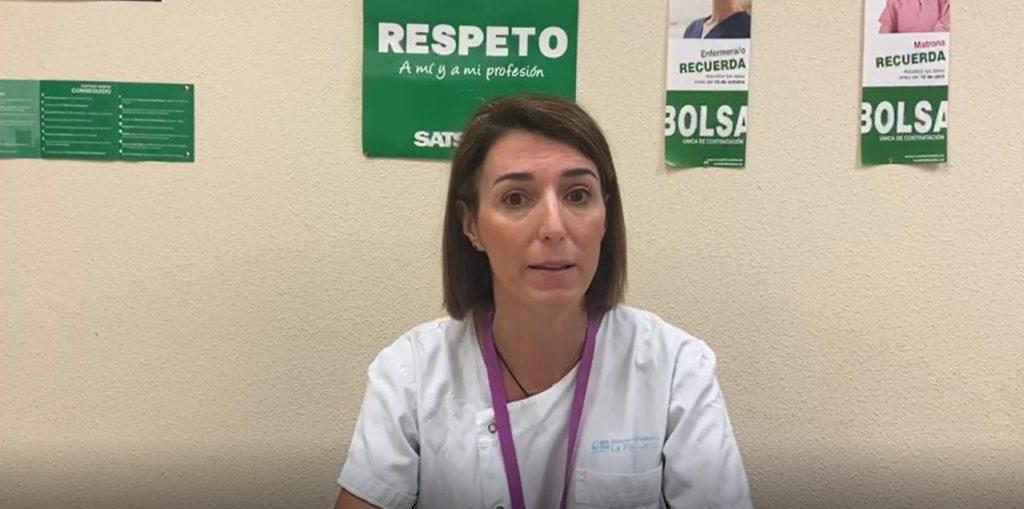Marta Arribas Hospital La Paz | Satse Madrid