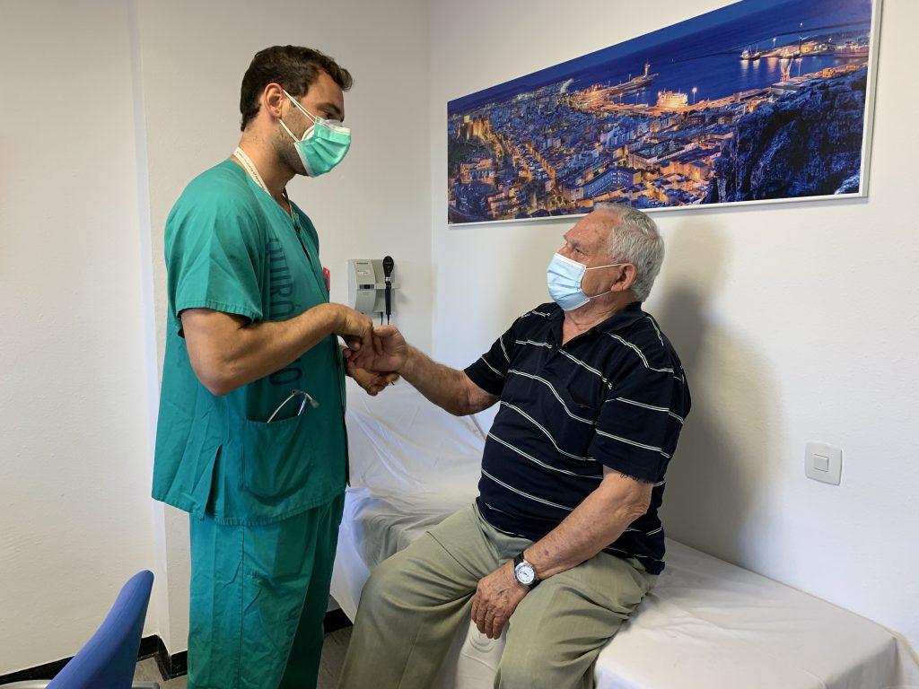 Consulta neurología covid-19 | Hospital Regional de Málaga